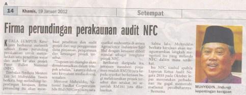 muhyiddin nfc audit