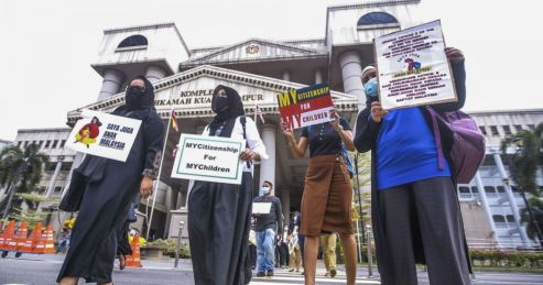 anak malaysia warganegara ibu