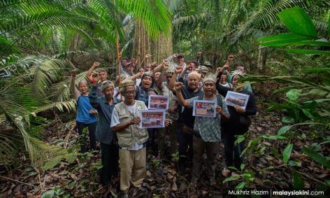 orang asli kuala langat hutan