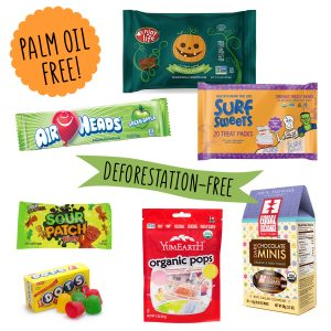 palm oil free halloween candy chocolate orangutan foundation international boycott palm oil vegan