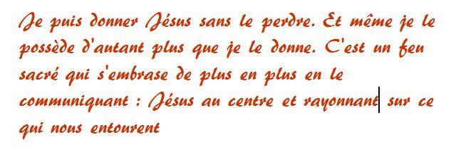 Donner Jésus