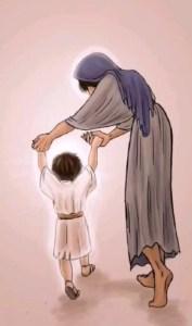 Marche avec nous Marie