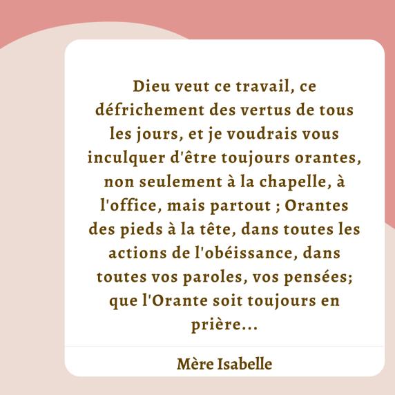 Mère Isabelle