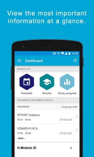 MyTUDelft screenshot