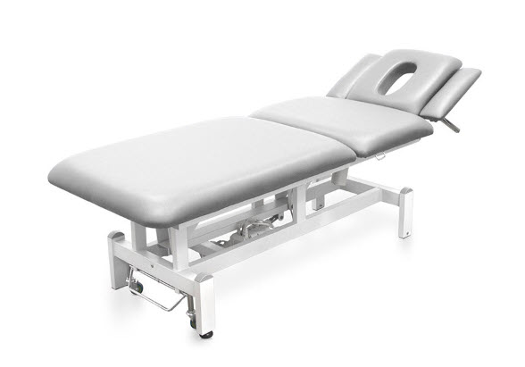 Three Sections Electric Treatment Table - Height Adjustable Armrests 6