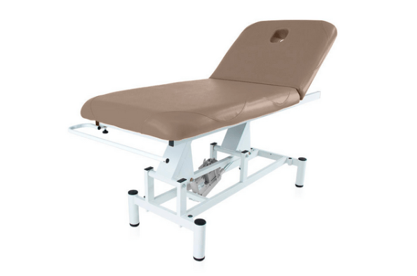 Two Section Electric Treatment Table Q PLUS 1 with Moveable Backrest 6