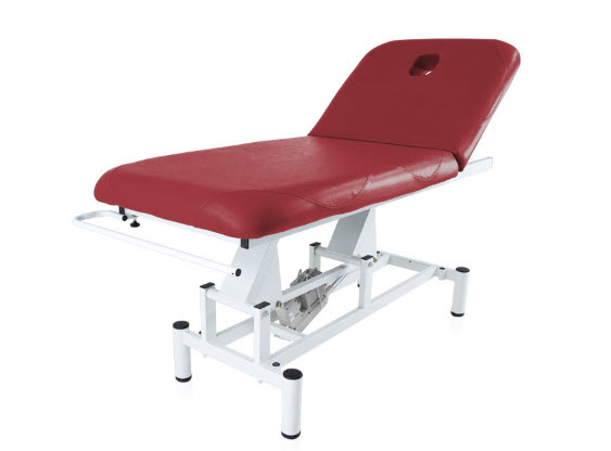 Two Section Electric Treatment Table Q PLUS 1 with Moveable Backrest 3