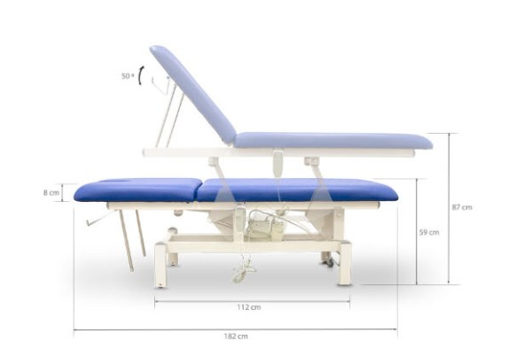 Two Section Electric Massage Table 4