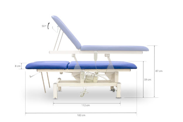 Two Section Electric Massage Table 10