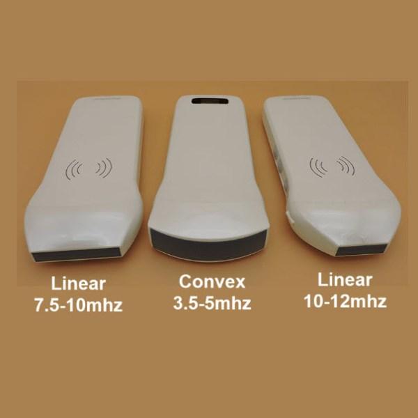 128E B/W Wireless Ultrasound Probe – Linear & Convex