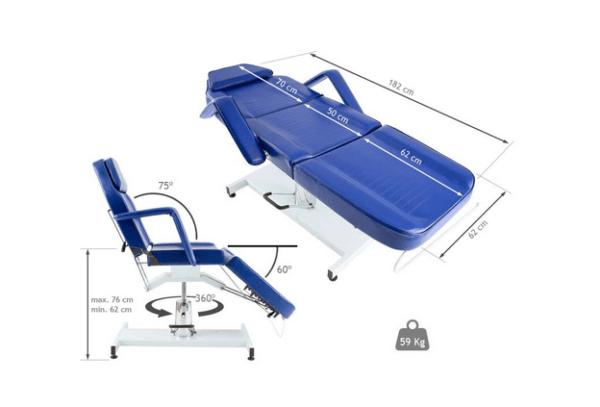 3-Section Hydraulic Treatment Chair Basic 2
