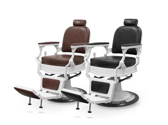 Chicago Brown Barber Chair 2