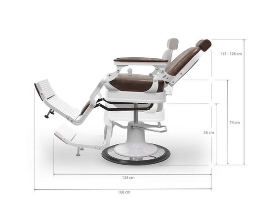 Chicago Brown Barber Chair 4