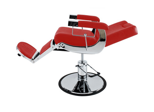 Tennessee Deep-Red Barber Chair 3