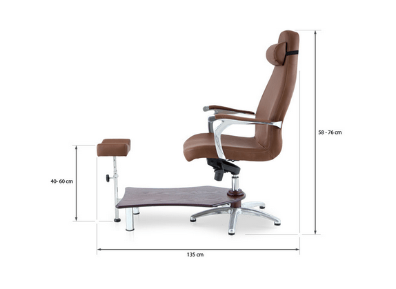 Basic Pedicure Chair With Gas Lift 3
