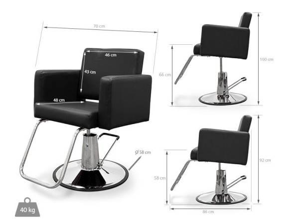 Hairdressers Chair Piemonte 5