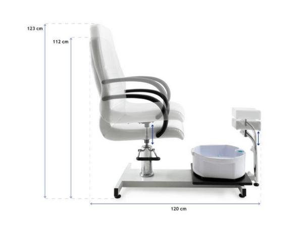 Pedicure Chair With Whirlpool Bath 2