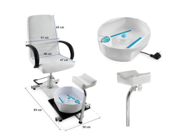 Pedicure Chair With Whirlpool Bath 3
