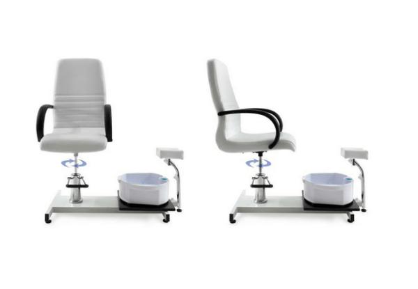 Pedicure Chair With Whirlpool Bath 6