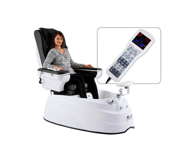 Pedicure Chair with Hydromassage System and Music Player - DELUXE PLUS 3