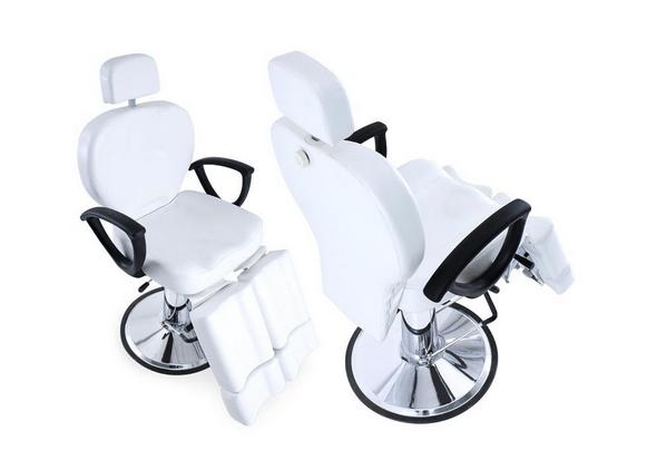 Aesthetics Swivel Hydraulic Armchair With Legs 2