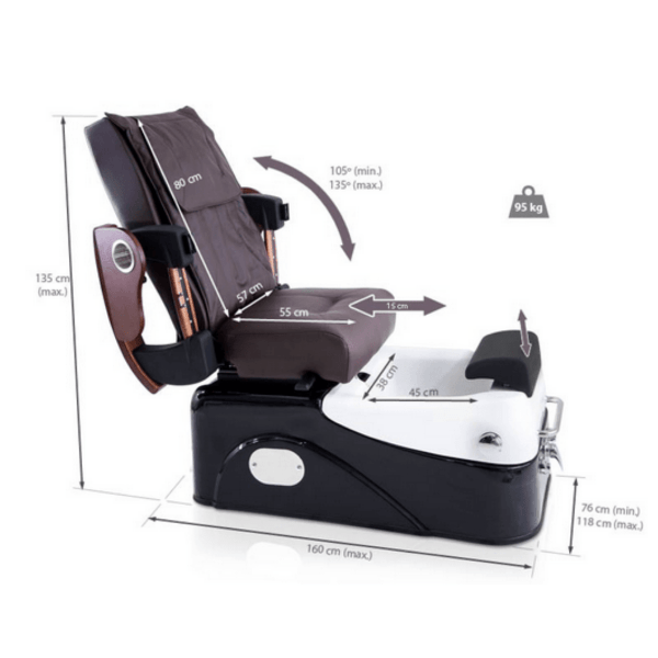 3-Programme Pedicure Chair with Hydro-Massage - DELUXE 4