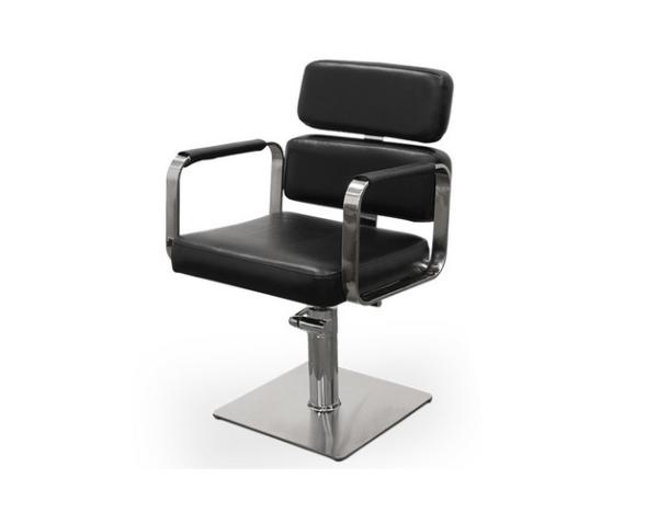 Black Ferrara Hairdresser Chair 1