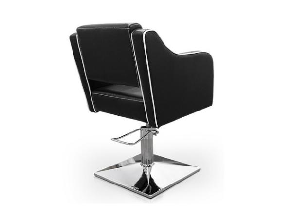 Black Pompeya Hairdresser Chair 4