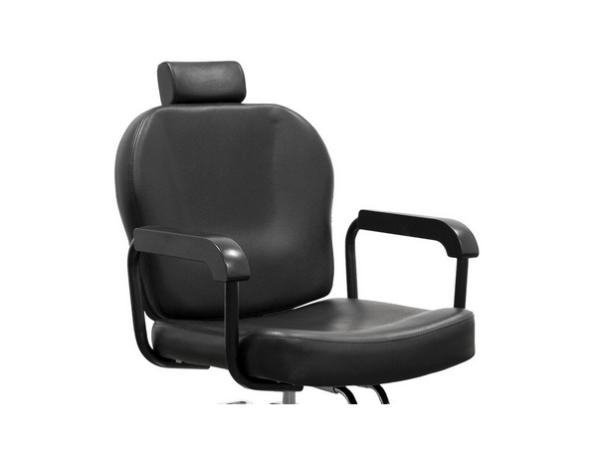 Black Sorrento Hairdresser Chair 5