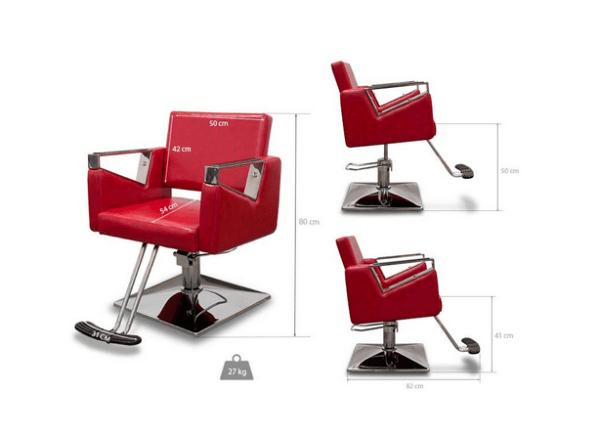 Bergamo Hairdressers Chair 2