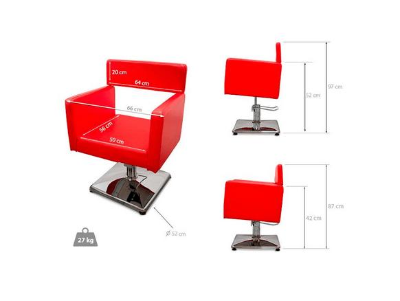 Sardegna Hairdressers Chair 2