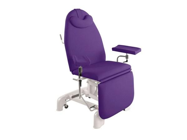 Hydraulic Blood Sampling Chair 182 x 62 cm 1
