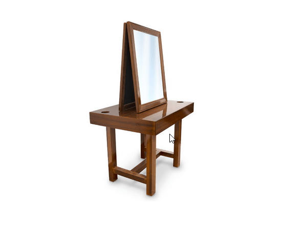 Retro Dressing Table For Barbershop 3