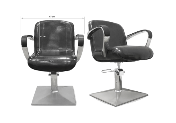 Styling Chair Alessandria Black 2