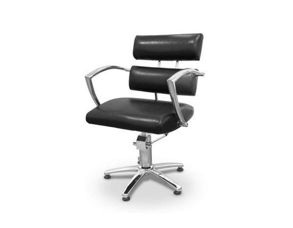 Black Garda Styling Chair 1