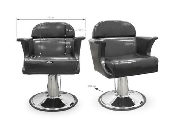 Styling Chair Novara Black 2