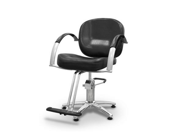 Black Sicilia Styling Chair 1