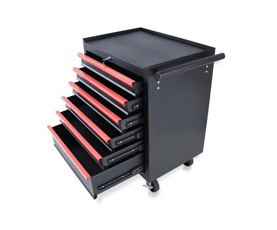 Barber Hair Salons And Tattoo Shops Trolley With 6 Drawers 2