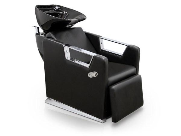 Hair Salon Backwash Unit with Chrome Finishing 1