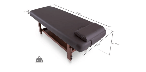 Fixed SPA Bed With Wooden Base 3