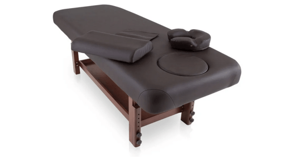 Fixed SPA Bed With Wooden Base 4
