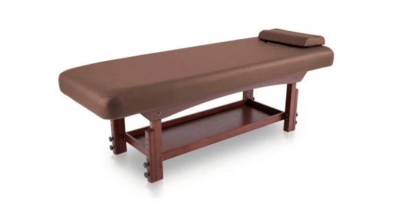 Fixed SPA Bed With Wooden Base 8