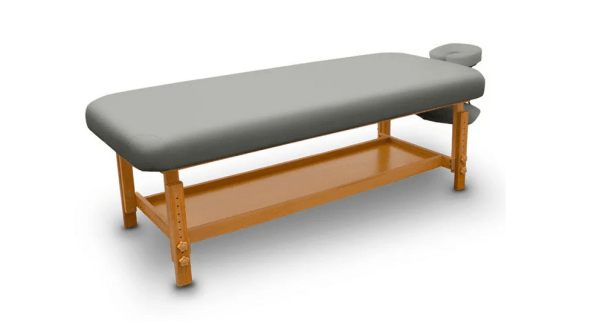 Fixed Wooden Massage Table for SPA 8