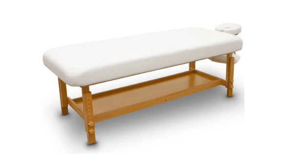 Fixed Wooden Massage Table for SPA 1