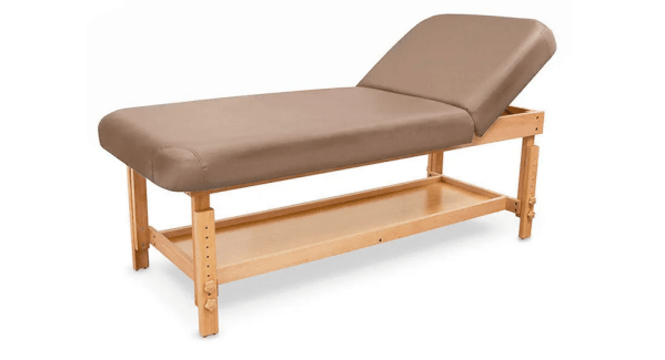 SPA Wooden Massage Table With Backrest 8