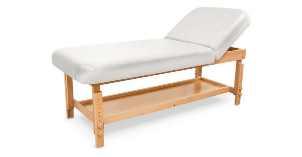 SPA Wooden Massage Table With Backrest 1
