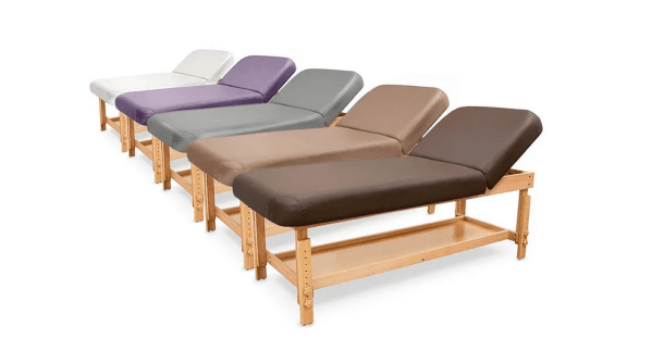 SPA Wooden Massage Table With Backrest 2