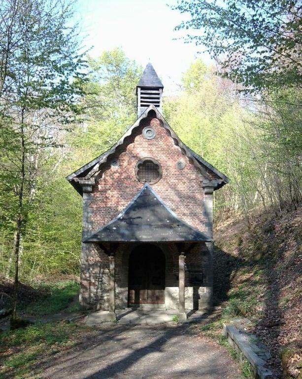 Chapelle Ste Hiltrude. Forêt de Trélon