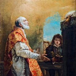 A painting of St Philip