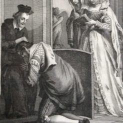 St. Philip absolves a penitent.